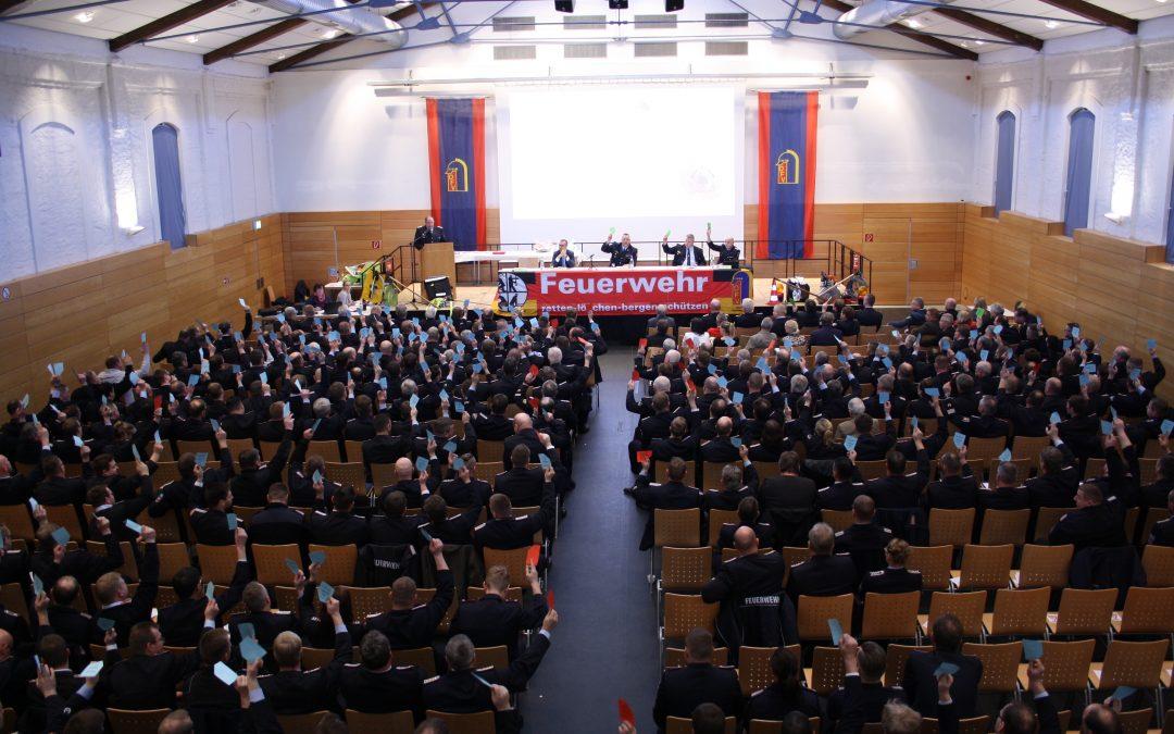 Mitgliederversammlung des Kreisfeuerwehrverbandes Ludwigslust-Parchim am 19.01.2019