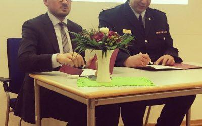 Zuwendungsvereinbarung unterschrieben