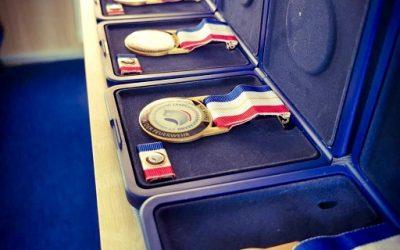 Auszeichnungsveranstaltung mit dem Ehrenzeichen am Bande für 50 Jahre Mitgliedschaft in der Feuerwehr