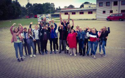 Austauschschülern aus Murmansk zu Besuch