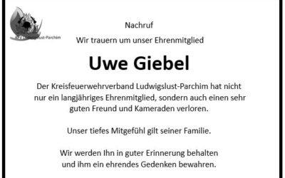 Nachruf Ehrenmitglied Uwe Giebel